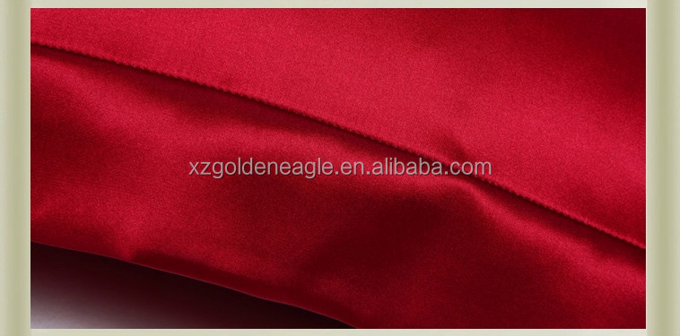 Silk Satin Red Pillowcases Standard Size