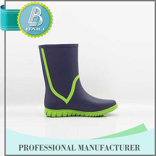 Most popular Customised designs Rubber Rain mexican western boots