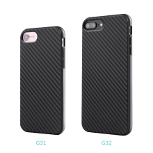 Small Moq Slim Soft Touch Feeling Carbon Fiber TPU Handphone Case for Phone iPhone 6S