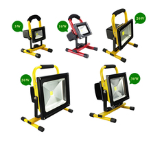 portable led flood light rechargeable led flood light Driver Outdoor RGB led flood light