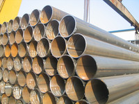 Chinese manufacturer produce large diameter steel pipe