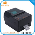 "4""RP400 thermal transfer barcode printer,with function for automatic correction paper and carbon"