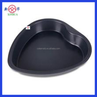 heart shape cake pan cake mould cake baking tray with ecofriendly food grade coating
