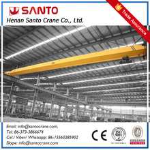 Low Noise Mechanical Billet Clamp Single Girder Overhead Bridge Monorail Crane