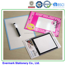 OEM CMYK Eraserable Magnet WhiteBoard Fridge Magnet Memo With Cheap Price different shapes-quadrate
