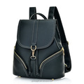 Factory Wholesale Fashion Pu Leather Backpack Lady School Day backpack for Women
