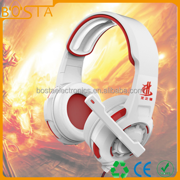 Mixed color gaming high sensitivity gaming and high quality gaming headset
