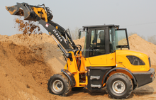 CE Wheeled Excavator, Wheeled Digger, Cheap Backhoe for Sale only 7000+USD
