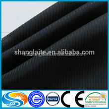 polyester cotton herringbone/fishbone pocketing fabric black herringbone white herringbone fabric