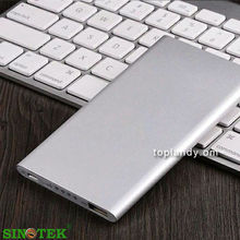 SINOTEK 5000mah newest cheap porable power bank ,external mobile phone battery