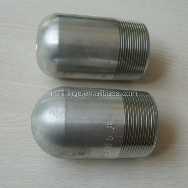 Quot a carbon steel and stainless bull plug