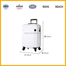 Travel bags colorful trolley case with wheel for teenage