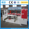 automatic rotary die cutting machine with slotter attachment for corrugated carton box