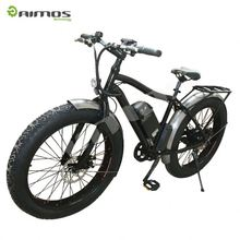 2016 new style 20/26 inch aluminum alloy mountain fat e bike/snow electric bicycle/fatbike factory