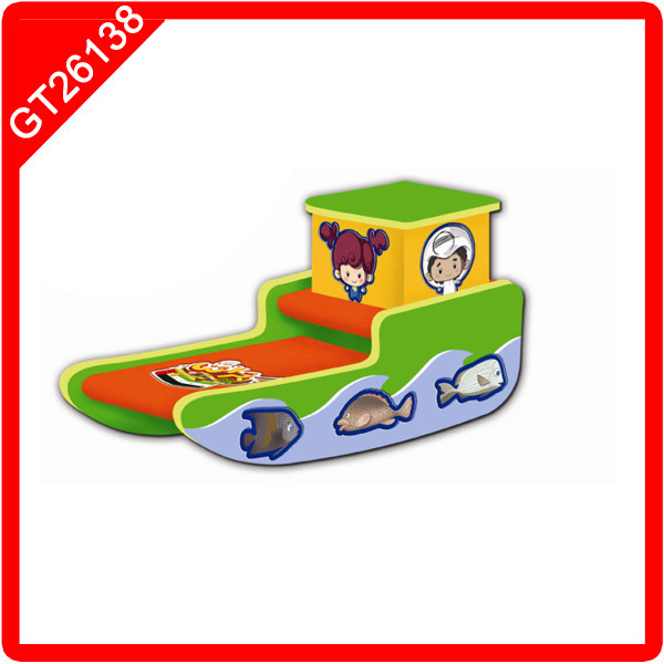 wooden german toys wooden mini boat toy
