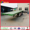 PHILLAYA Flatbed General Cargo Widely Used Tractor Trailer/20FT 40FT Container Transportation Truck Semi-Trailer