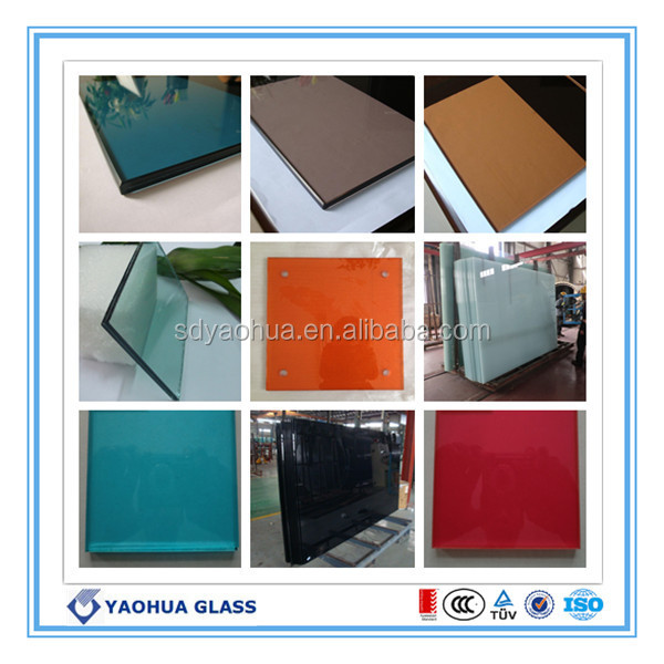 CE SAI ISO9001 44/1 Clear Milky Green Grey Laminated Glass