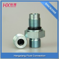 high quality stainless steel pipe fitting / Oil cylinder through joint/