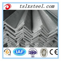 Hot dip galvanized angle steel/ Hot GI MS Angle Steel Bar, Size 20x20-200x200mm