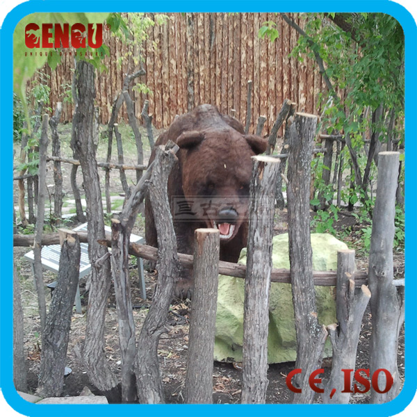 Outdoor fiberglass animal statues bear statues for sale
