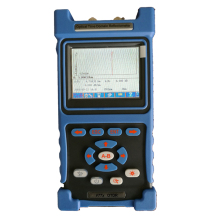 1310/1550nm 32/30dB Handheld Mini OTDR with Touch Screen and VFL and USB Port