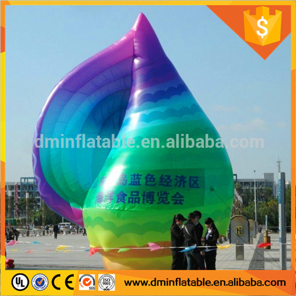 outdoor event decorations inflatable conch,giant inflatable sea snail