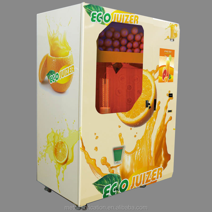fresh fruit orange juice concentrate dispenser machine