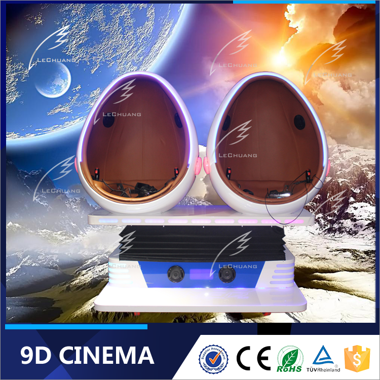Bright prospect single /double/ tripple egg seats production equipment 9d vr kino