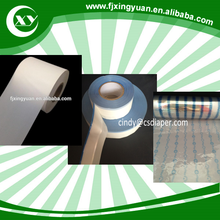 Raw material for disposable adult diaper