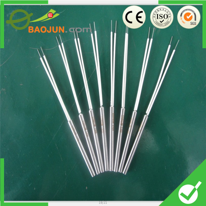 Stainless steel series cartridge heater for form fill seal