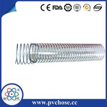 2015 HOT high-intensity PVC steel wire reinforced hose for drinking water