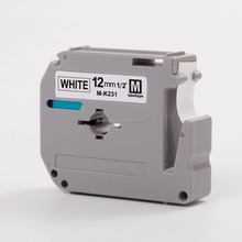 Cheap M tapes MK231 compatible M-K231 P-T Label printer PT-80 PT-85