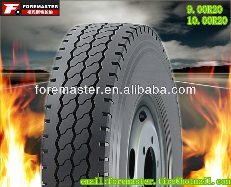 best quality with REACH 9.00R20 12 ply truck tires