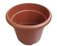 Customized plastic flower pot injection mould