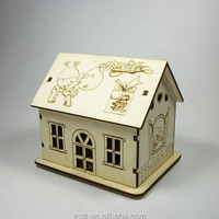 Wholesale Custom Laser Cut Toy 3d