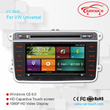 for VW B6 Auto Radio DVD Player with GPS Navigation Wifi 3G Digital TV RDS CAN Bus