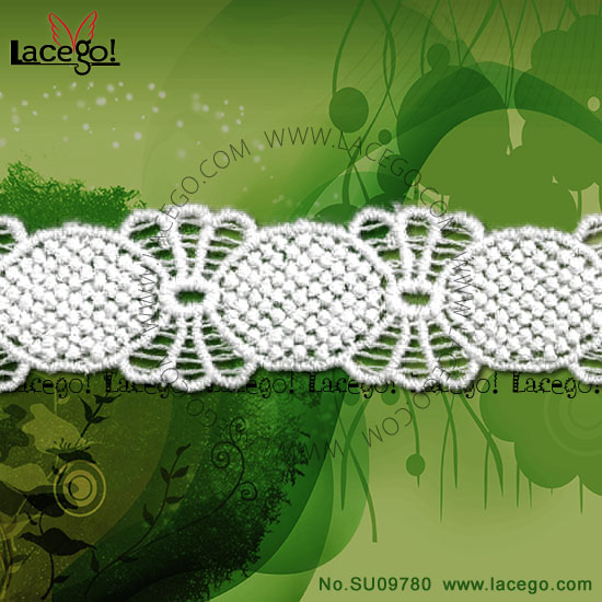 Free Sample Available Embroidery Chemical Battenburg Lace Trim