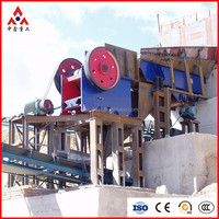Zhongxin stone crushing line with German technique free support