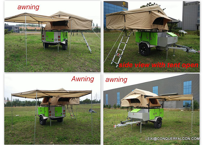 off road folding camper trailer