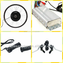 48V 2000W Brushless Gearless Hub Motor/Electric Fat Bike DIY Conversion Kits fat ebike rim 26x4.0