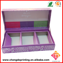 2015 Custom Luxury Book Shape Gift Box with Paper Divider