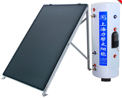 Solar Thermal Water Heating Flat panel non-pressurized Solar Water Heater Machinery