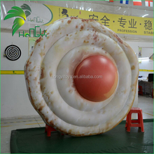Customized Giant Inflatable Fried Eggs for Decoration