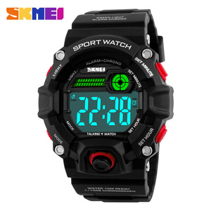 2017 Hot sales Reloje hombre Fashion Brand SKMEI 1162 Military Digital Sport Watches Waterproof Talking watch for men