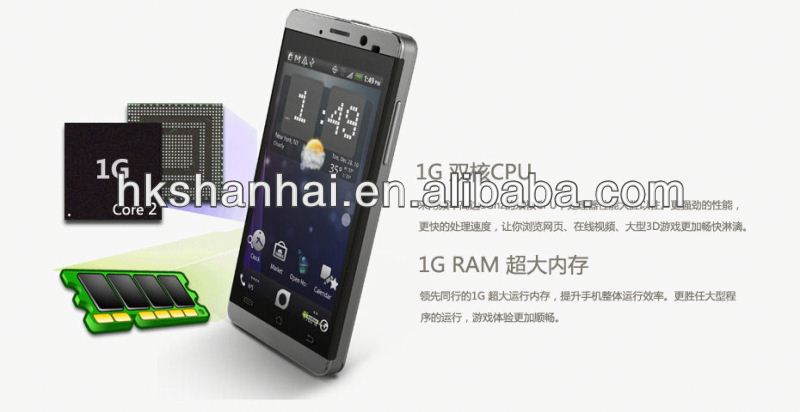 new products for 2013 jiayu g3 mtk6577 dual core