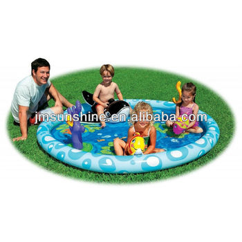 Hot selling children outdoor play inflatable pool