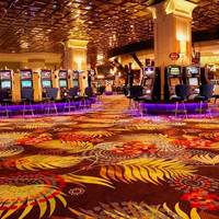 fashional pattern crazy carpet for star hotel, high quality las vegas casino carpet