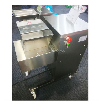 800kg/h Vertical Electric Meat strip cutter machine for sale