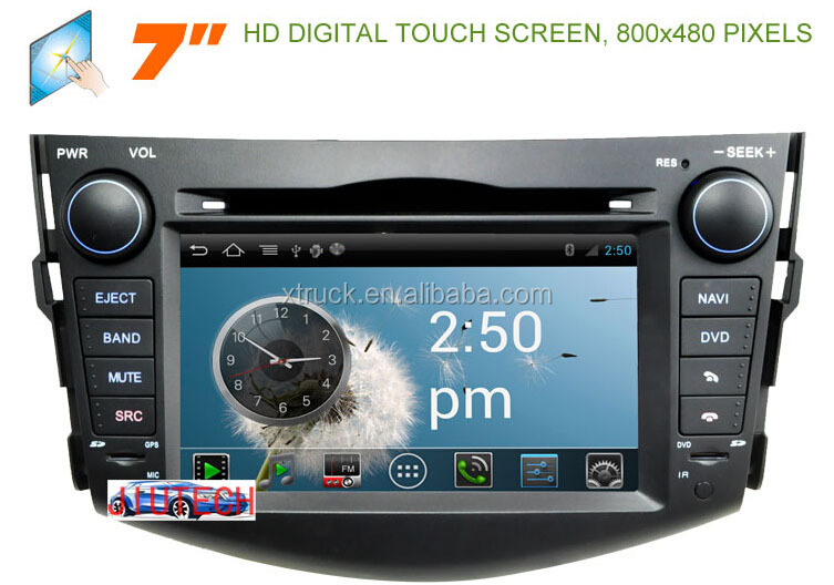 Android 4.4 Stereo for Toyota RAV4 RAV 4 GPS Satnav Headunit Autoradio car dvd player 3G WiFi Multimedia Player Audio System