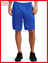 Polyester material men's short pants with soft feel for sport men